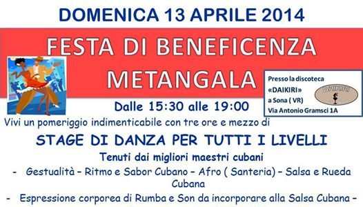 Festa di beneficenza Metangala